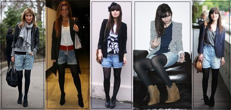 shorts jeans e meia para ivenverno 2012