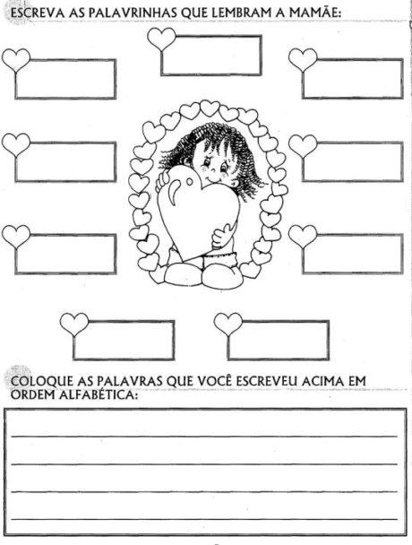 atividades para o dia das maes 5 460x608 - ATIVIDADES PARA DIA DAS MÃES para crianças estudantes