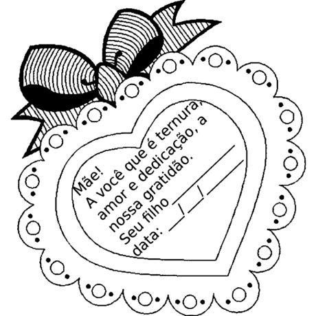 desenhos para dia das maes 3 460x460 - ATIVIDADES PARA DIA DAS MÃES para crianças estudantes