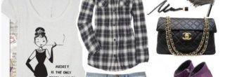 looks com camisa xadrez na moda 2012