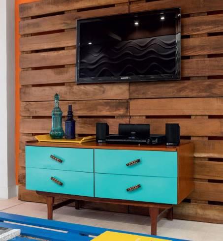 moveis retro na sala - DECORAÇÃO PARA SALA DE ESTAR detalhes e móveis