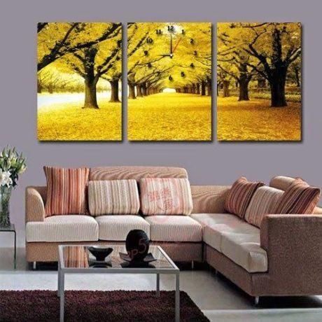 quadros para sala 460x460 - DECORAÇÃO PARA SALA DE ESTAR detalhes e móveis