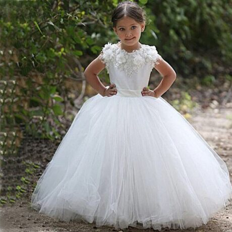 18 460x460 - VESTIDOS PARA DAMA DE HONRA 30 modelitos lindos para meninas