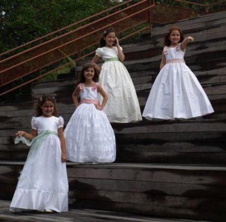26 460x453 - VESTIDOS PARA DAMA DE HONRA 30 modelitos lindos para meninas