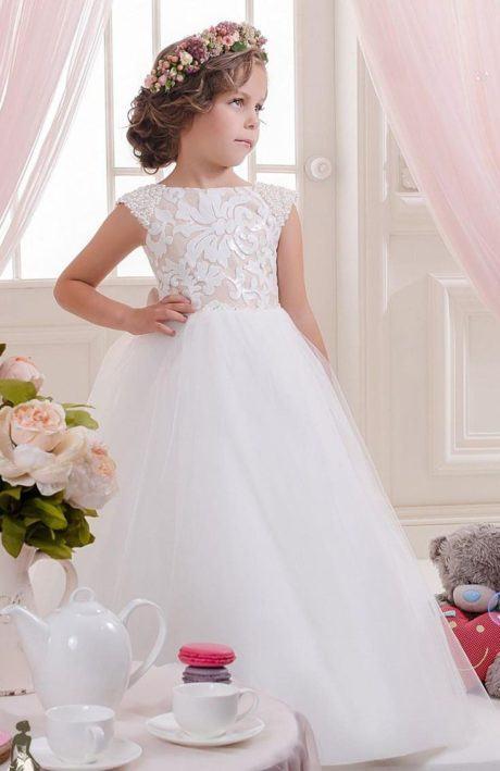 4 460x709 - VESTIDOS PARA DAMA DE HONRA 30 modelitos lindos para meninas