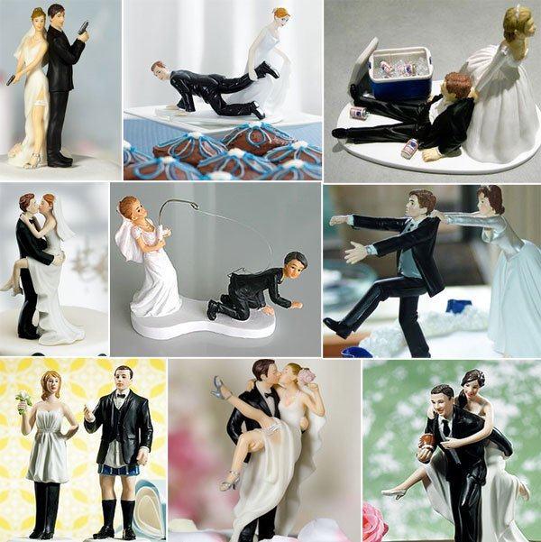 noivinhos de bolo casamento varios modelos