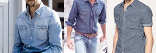 camisa jeans masculina 2013