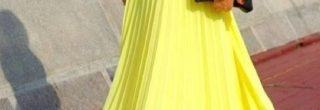 saia longa neon na moda verao 2013