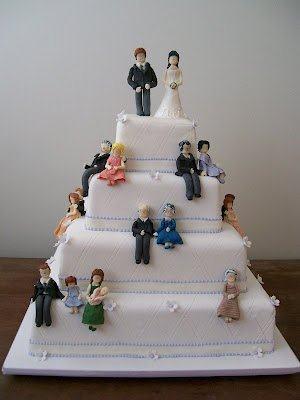 bolo de casamento criativo