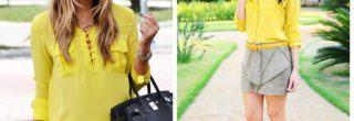 looks natal 2012 camisa-amarela