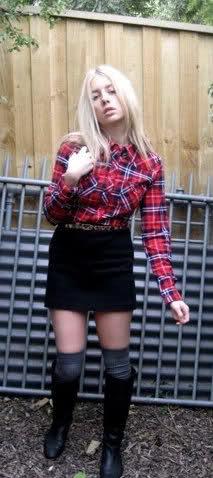 imagem 26 - CAMISA XADREZ FEMININA : Como usar com calça, saia, ou shorts