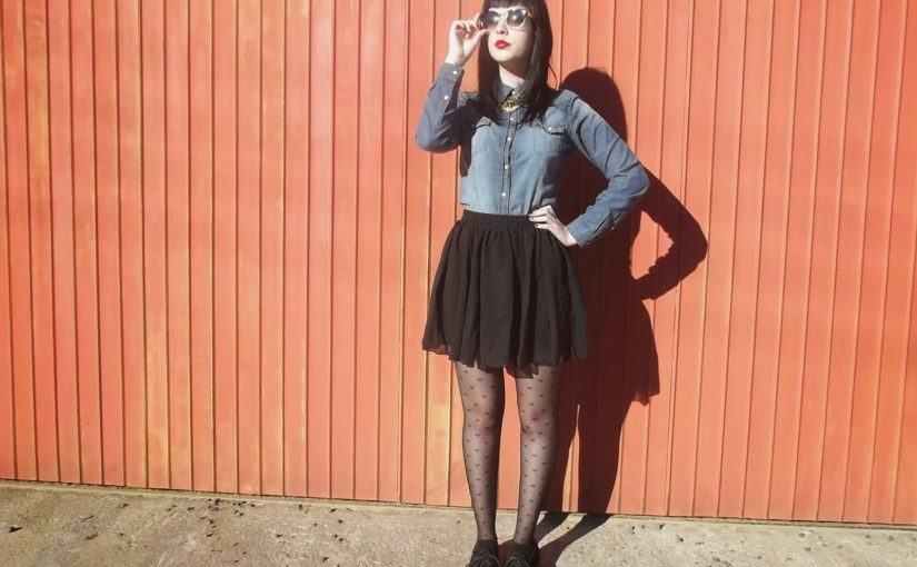 LOOKS COM MEIA CALÇA : Com Saia, Vestido ou shorts (Moda Inverno)