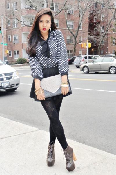 imagem 22 1 - LOOKS COM MEIA CALÇA : Com Saia, Vestido ou shorts (Moda Inverno)