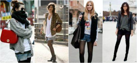 imagem 5 1 460x214 - LOOKS COM MEIA CALÇA : Com Saia, Vestido ou shorts (Moda Inverno)