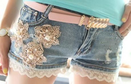 shorts jeans customizados 3 460x297 - SHORTS JEANS CUSTOMIZADOS em 30 estilos descolados
