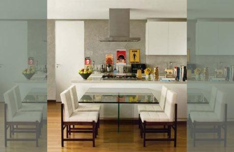 mesa para cozinha planejada 460x298 - MESA PARA COZINHA pequena, redonda, varias configurações