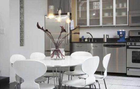 mesa para cozinha redonda 460x294 - MESA PARA COZINHA pequena, redonda, varias configurações