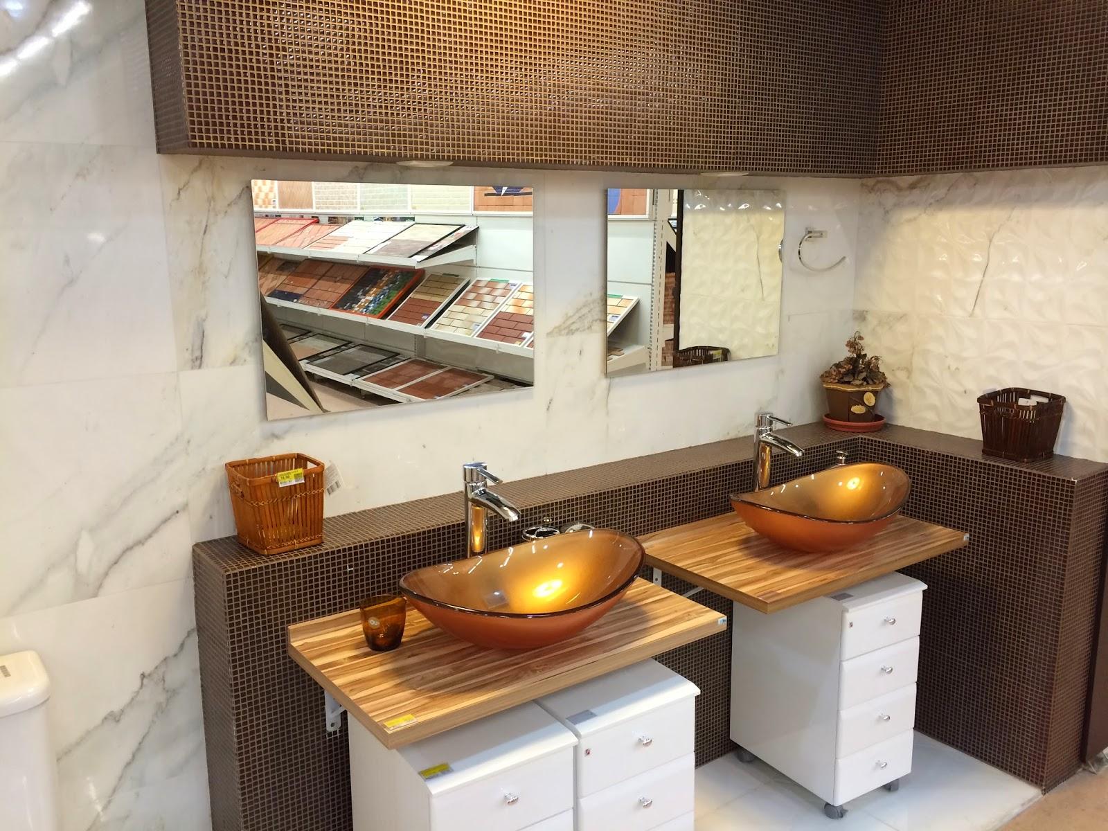 CUBAS para banheiros simples e modernos