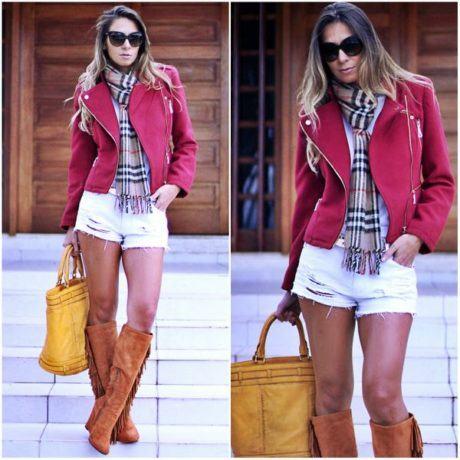 imagem 14 460x460 - Casaquinhos curtos como usar : Com saia, vestido, calça, shorts