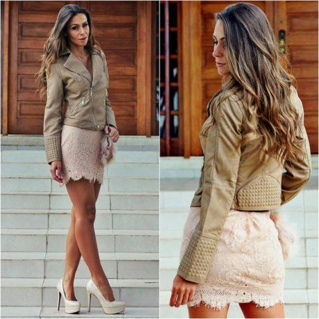 imagem 15 460x460 - Casaquinhos curtos como usar : Com saia, vestido, calça, shorts