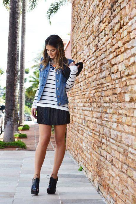 imagem 21 460x690 - Casaquinhos curtos como usar : Com saia, vestido, calça, shorts
