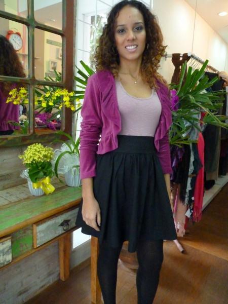 imagem 29 - Casaquinhos curtos como usar : Com saia, vestido, calça, shorts