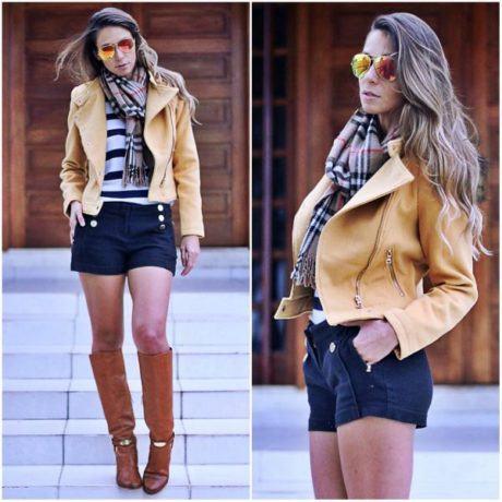 imagem 6 460x460 - Casaquinhos curtos como usar : Com saia, vestido, calça, shorts