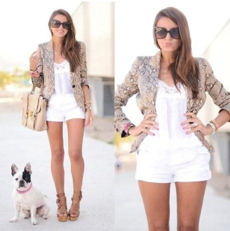 modelos casaquinho curto 460x462 - Casaquinhos curtos como usar : Com saia, vestido, calça, shorts