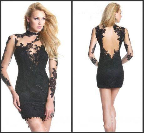 imagem 19 460x426 - Vestidos com detalhes em tule: Modelos com renda, estampados e mais