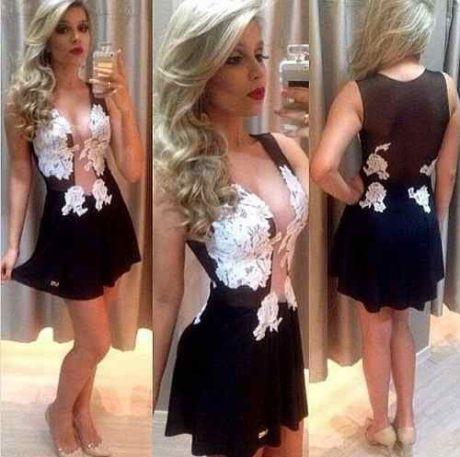 imagem 22 460x457 - Vestidos com detalhes em tule: Modelos com renda, estampados e mais