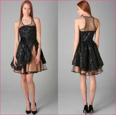 imagem 24 - Vestidos com detalhes em tule: Modelos com renda, estampados e mais