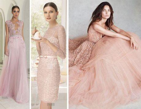vestido rosa para festa 460x356 - VESTIDOS DE FESTA ROSA modelos longos e curtos
