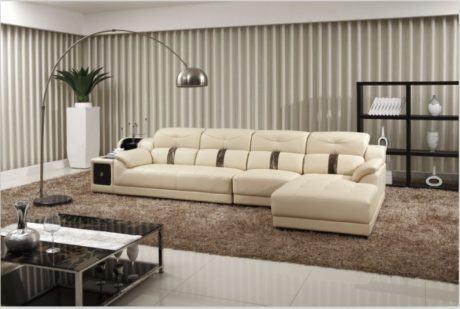 imagem 19 460x309 - SOFÁS DE COURO ; Várias cores e estilos para sala de estar