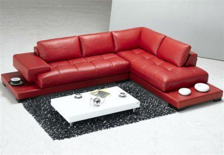 imagem 20 460x319 - SOFÁS DE COURO ; Várias cores e estilos para sala de estar