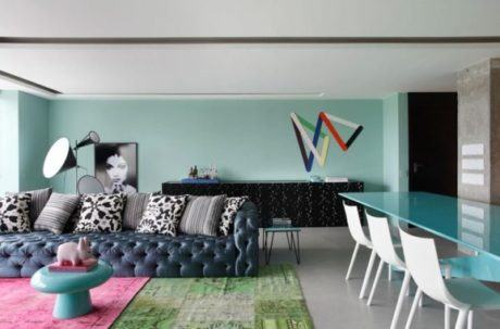 imagem 21 460x303 - SOFÁS DE COURO ; Várias cores e estilos para sala de estar