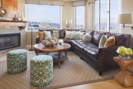 imagem 22 460x307 - SOFÁS DE COURO ; Várias cores e estilos para sala de estar