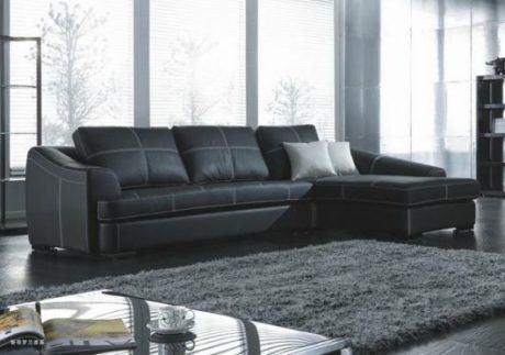 imagem 5 460x323 - SOFÁS DE COURO ; Várias cores e estilos para sala de estar