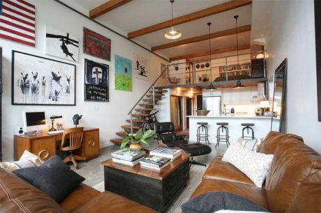 imagem 6 460x306 - SOFÁS DE COURO ; Várias cores e estilos para sala de estar