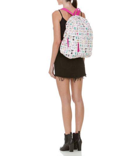 Bolsa Mochila Feminina Como Usar : Bolsas mochilas estampadas femininas como usar decor