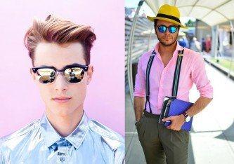 óculos espelhado masculino