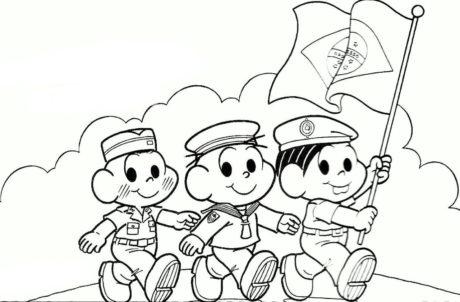 desenhos da independencia do brasil 14 460x302 - DESENHOS E ATIVIDADES da Independência do Brasil