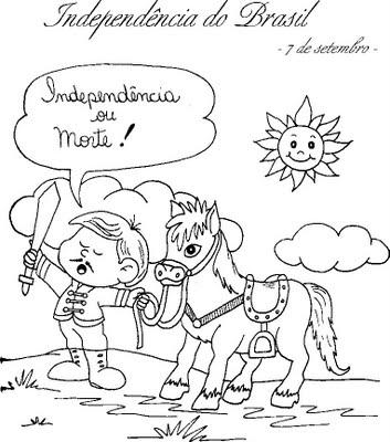 desenhos da independencia do brasil 3 - DESENHOS E ATIVIDADES da Independência do Brasil