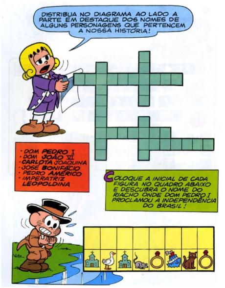 imagem 24 460x587 - DESENHOS E ATIVIDADES da Independência do Brasil