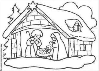 dicas de desenhos de natal para imprimir