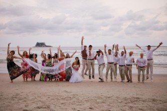 dicas para casamento simples na praia