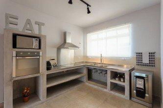 fotos de cozinha planejada de concreto