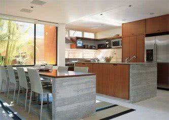 imagens de cozinha planejada de concreto