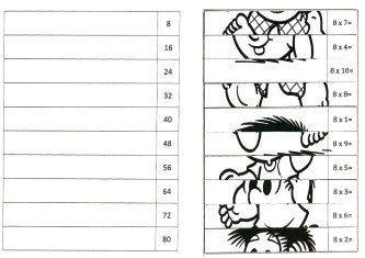 imagens de tabuada do 8 para colorir