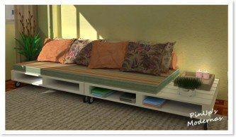 móveis feitos de paletes