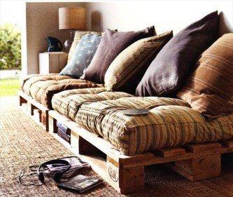 móveis feitos de paletes sofás